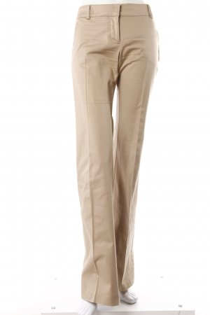 Zara Bundfaltenhose beige
