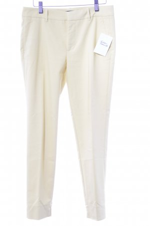 Zara Pleated Trousers yellow elegant