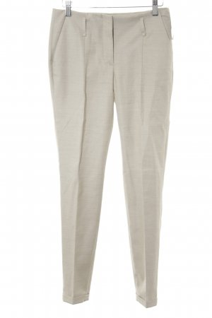 Zara Pleated Trousers oatmeal business style