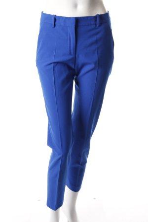 Zara Pantalon à pinces bleu