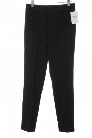 Zara Pleated Trousers black spot pattern business style
