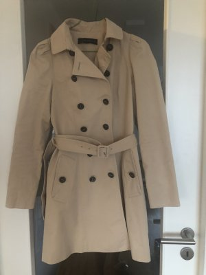 Zara Business Mantel Trenchcoat Gr.34 S Beige