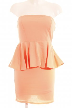 Zara Bustierkleid neonorange Party-Look
