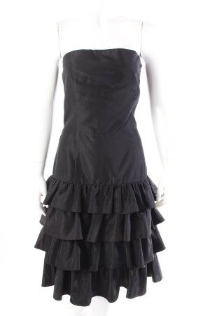 Zara Bustierkleid schwarz