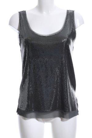 Zara Bustier Top black-light grey casual look