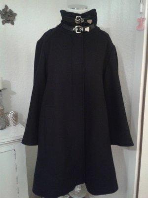 Zara Cappotto invernale nero-oro