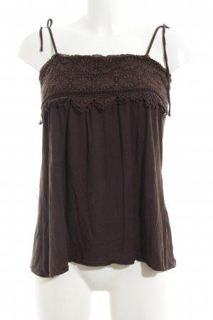 Zara Camisole bruin casual uitstraling