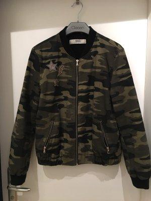Zara Camouflage Bomber - Jacke Gr. L