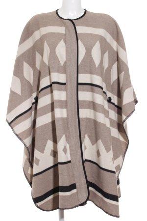 Zara Cape grafisches Muster Street-Fashion-Look