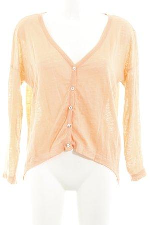 Zara Cardigan apricot Casual-Look