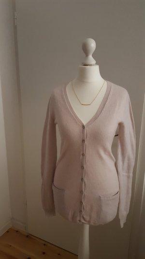 Zara Cardigan tricotés rose chair-rose clair cachemire