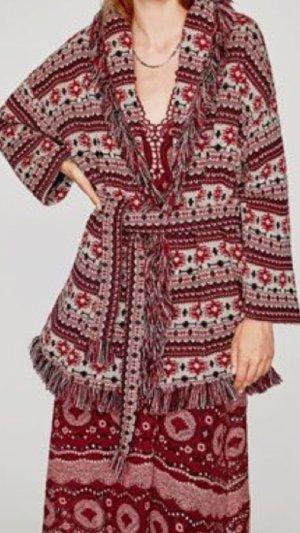 Zara cardigan Azteken