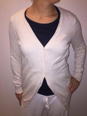 Zara Cardigan tricotés blanc cassé
