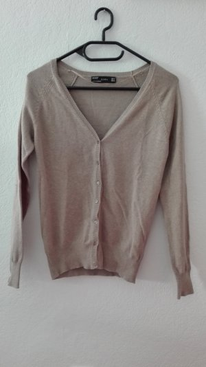 Zara Cardigan beige Strickjacke S 36 Basic