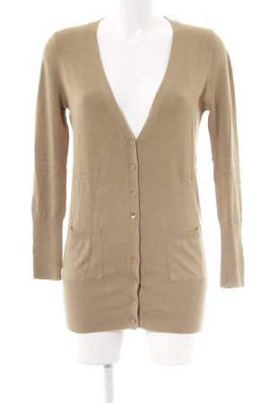 Zara Cardigan camel Casual-Look