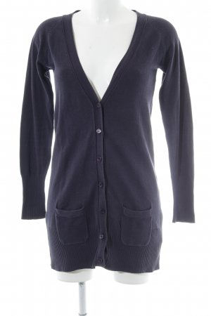 Zara Cardigan dunkelblau Casual-Look