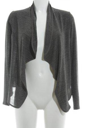 Zara Cardigan gris foncé moucheté style décontracté