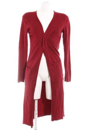 Zara Cardigan dunkelrot Casual-Look