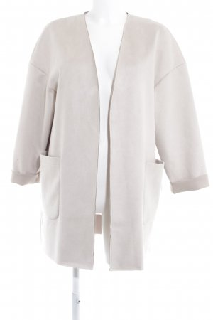 Zara Cardigan hellbeige Street-Fashion-Look