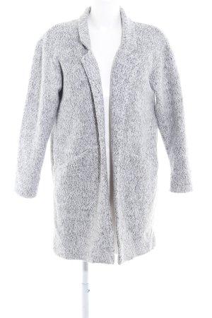 Zara Cardigan gris clair-gris moucheté style décontracté