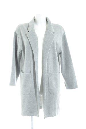 Zara Cárdigan gris claro estilo sencillo