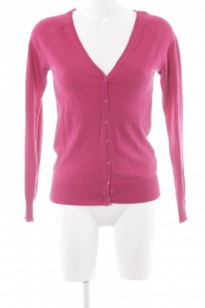 Zara Cardigan magenta Casual-Look