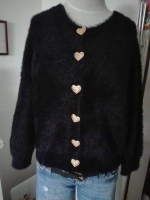 Zara Cardigan mit Herz Knöpfe Gucci Style 'Rar'