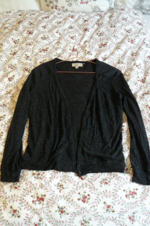 Zara Cardigan mit Lederapplikation