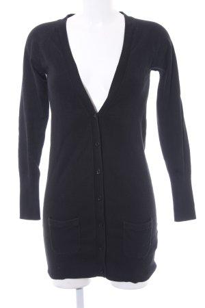 Zara Cardigan schwarz schlichter Stil