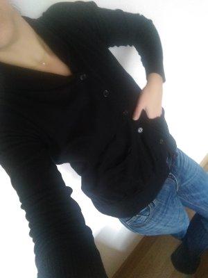 ZARA Cardigan schwarz zeitlos & schön
