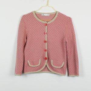 Zara Rebeca rosa-beige tejido mezclado