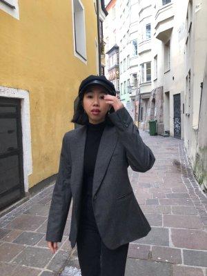 Zara Blouse Jacket grey-black