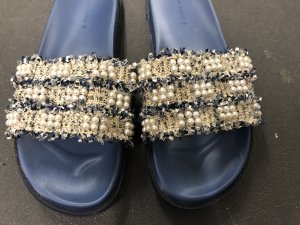Zara Chanel lookalike Badeschuhe Latschen Gr 39