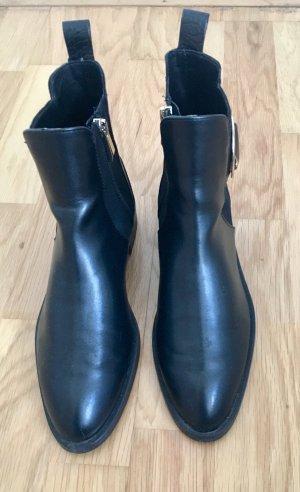 Zara Chelsea Boots schwarz 37