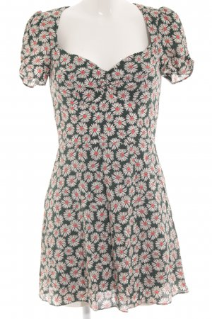Zara Chiffonkleid Blumenmuster Casual-Look