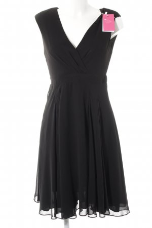 Zara Robe chiffon noir élégant