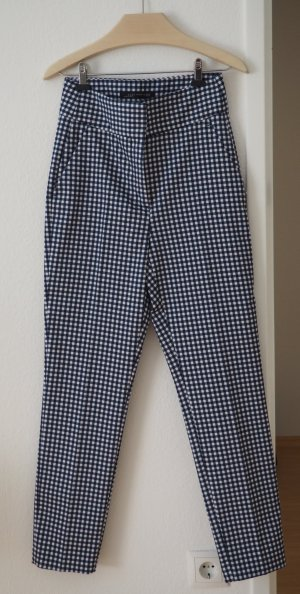 Zara Chinos dark blue-white