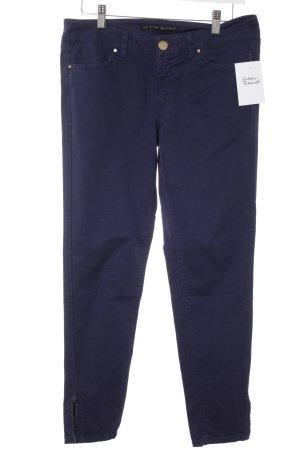 Zara Pantalone chino blu scuro stile casual
