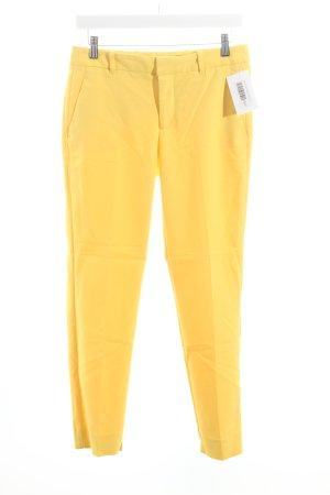 Zara Chinohose gelb schlichter Stil
