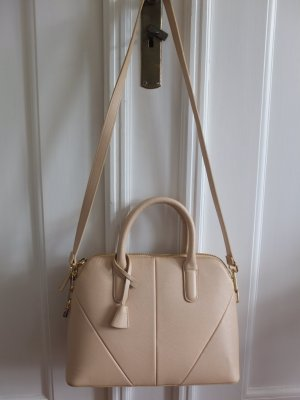 ZARA City Bag in Nude 2015