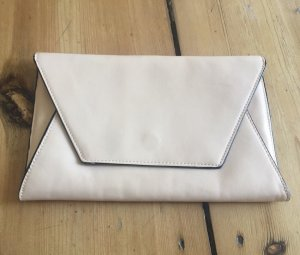 Zara Clutch cream imitation leather