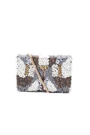 Zara Clutch mehrfarbig extravaganter Stil