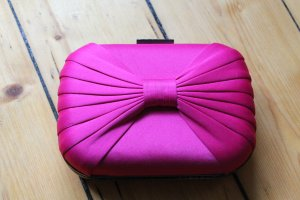 ZARA Clutch PINK Beere Party blogger hipster