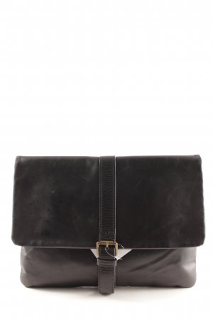 Zara Clutch schwarz Casual-Look