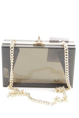 Zara Bolso de mano negro estilo extravagante