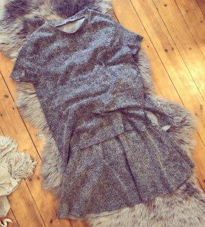Zara Robe gris-gris clair