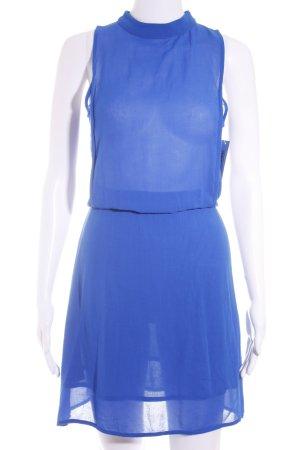 Zara Robe de cocktail bleu style classique
