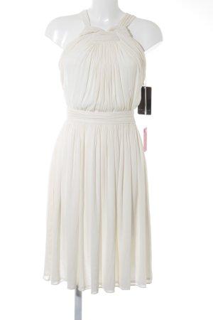 Zara Cocktailkleid wollweiß Elegant