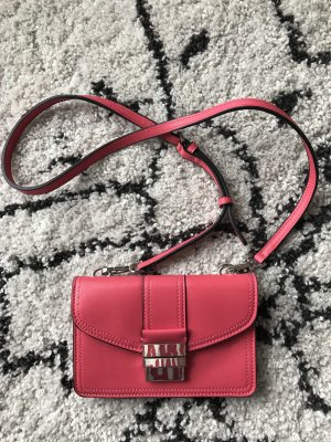 Zara Mini Bag magenta-silver-colored