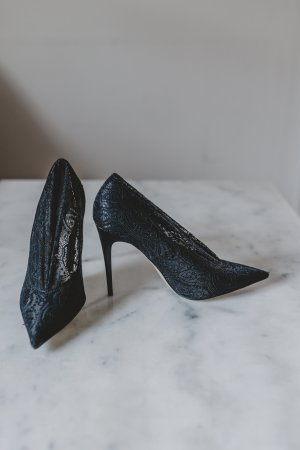 Zara Collection High Heels mit Spitze